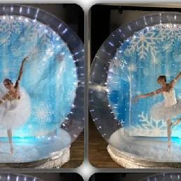Dancer Veldhoven  (NL) The Ballerina in Snow Globe