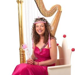 Harpist Den Haag  (NL) Concert Vertelling