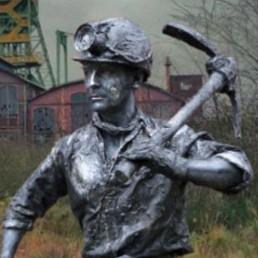 Animatie Nijmegen  (NL) Mijnwerker
