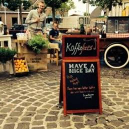 Barista Houten  (NL) Koffiefiets