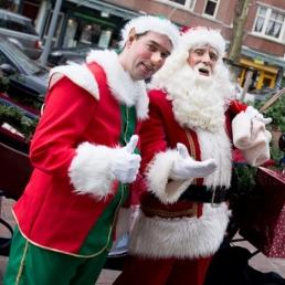 Character/Mascott Weert  (NL) Kerstman en KerstElf (Amsterdam e.o.)