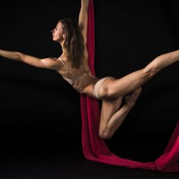Aerial silk solo