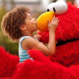 Karakter/Verkleed Den Haag  (NL) Meet & greet met Elmo