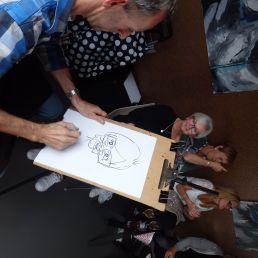 Cartoontekenaar Frankartoons