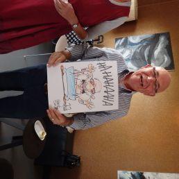 cartoontekenaar frankartoons, een feest op papier!