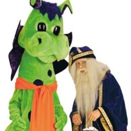 Animatie Monster  (NL) Merlijn & de magische draak