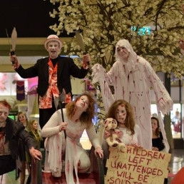 Animatie Monster  (NL) Halloween parade