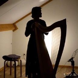Harpist Leuvenheim  (NL) Yoga met live Harp