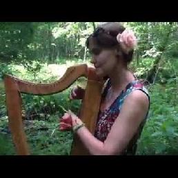 Yoga met live Harp