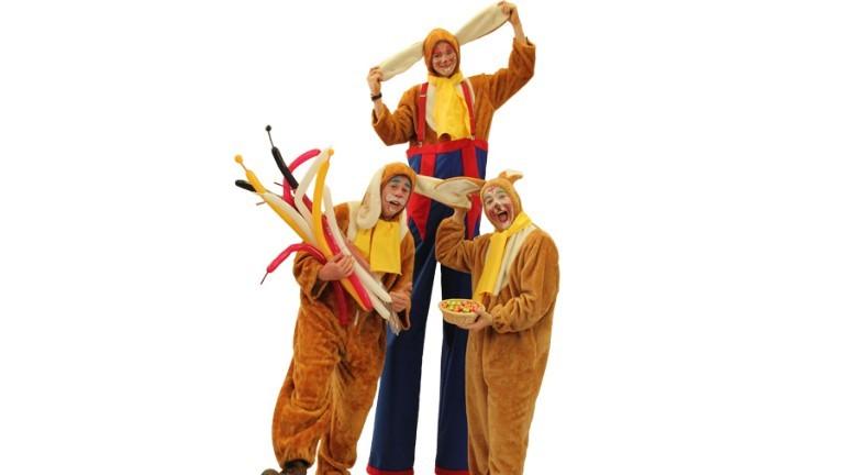 Het Knotsgekke Paashazenteam