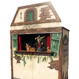 Kindervoorstelling Monster  (NL) Poppentheater met Pieter Paashaas