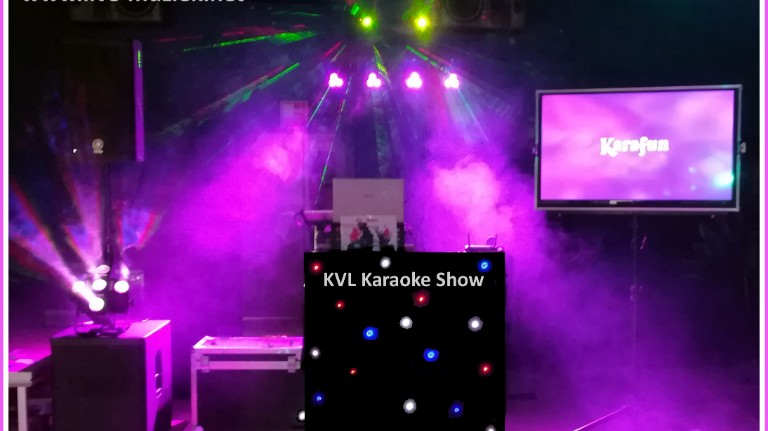 KVL drive-in and karaoke show