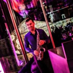 Saxofonist Zaandam  (NL) Saxofonist Rafael Pereira Lima