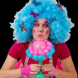 Clown Nistelrode  (NL) Ballonnenclown Pinkie