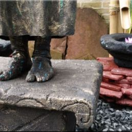 Animatie Almere  (NL) The Buddha (levend standbeeld)