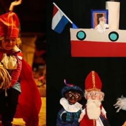 Kindervoorstelling Wijk bij Duurstede  (NL) Sint in zijn Hempie