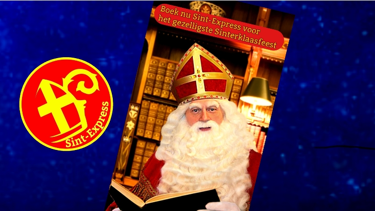 Kids show Oude Pekela  (NL) Video chat with Sinterklaas corona safe