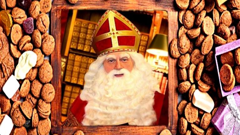 Kindervoorstelling Oude Pekela  (NL) Live verlangijstje bespreken met de Sint
