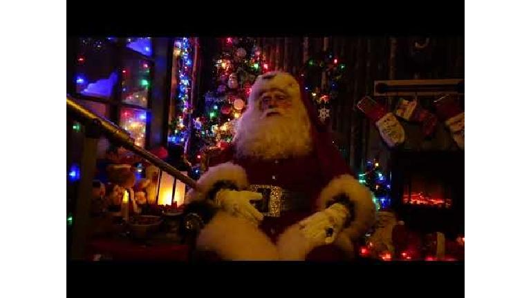 Character/Mascott Oude Pekela  (NL) Christmas wish / Christmas greeting from Santa Claus