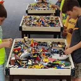 Sports/games Rosmalen  (NL) Building with lego bricks XL