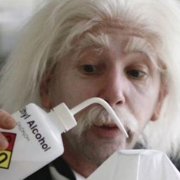 Animatie Rosmalen  (NL) Albert Einstein