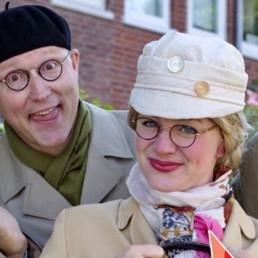 Animatie Rosmalen  (NL) Meneer en Mevrouw de Bok
