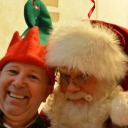 Fotograaf Rosmalen  (NL) Fotoactie Kerstman & Elf