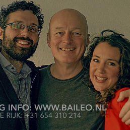 Band Amsterdam  (NL) Rebecca Lobry, Daniel Mathot & Jeroen de Rijk