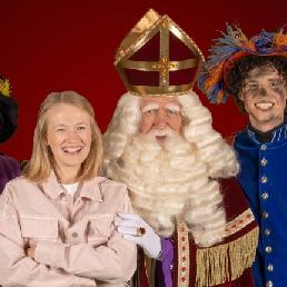 Kids show Amsterdam  (NL) Big Sintshow (with TV Sinterklaas)