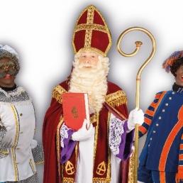 Kindervoorstelling Amsterdam  (NL) Bezoek van Sinterklaas en 2 Pieten