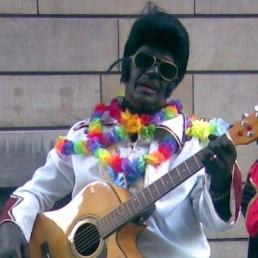 Karakter/Verkleed IJmuiden  (NL) Piet el Presley