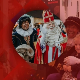 Character/Mascott Rotterdam  (NL) Top Sinterklaas & 2 Soot Sweepers