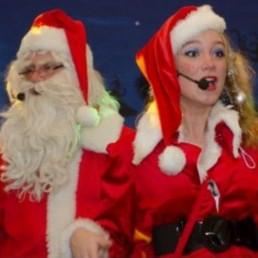 Character/Mascott Boxmeer  (NL) Bezoekje Kerstman & Kerstvrouwtje