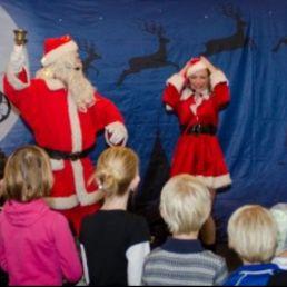 Bezoekje Kerstman & Kerstvrouwtje