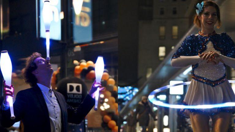De Deftig Dansende LED-artiesten