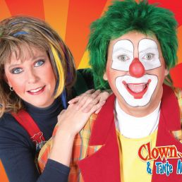 Kids show Heinenoord  (NL) Clown Jopie & Tante Angelique