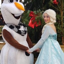 Karakter/Verkleed Amsterdam  (NL) Elsa van frozen inhuren voor evenement