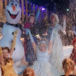 Karakter/Verkleed Amsterdam  (NL) Frozen karakters inhuren voor evenement