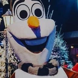 Frozen karakters inhuren voor evenement