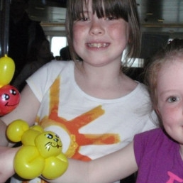 Ballon artiest Amsterdam  (NL) Workshop Ballonnen Kids