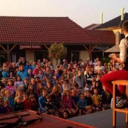 Kindervoorstelling Amsterdam  (NL) Tovermeester Lars