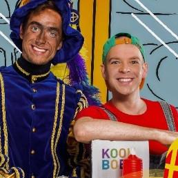 Kindervoorstelling Amsterdam  (NL) Julian en Piet in de Magische Keuken