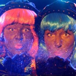 Kindervoorstelling Amsterdam  (NL) Glitter en Glamour Pietenshow