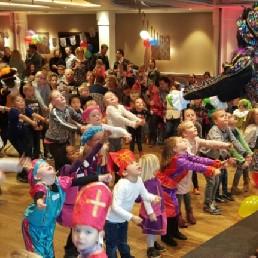 Kindervoorstelling Amsterdam  (NL) Discopiet Laat Alle Pietjes Dansen