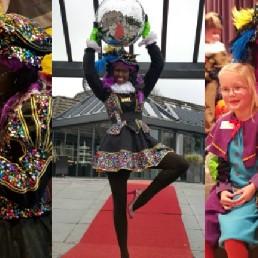 Kids show Amsterdam  (NL) Discopiet Laat Alle Pietjes Dansen