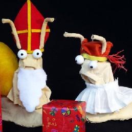 Kindervoorstelling Amsterdam  (NL) Eddie en Eduard Sinterklaasshow