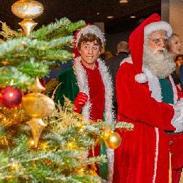 Character/Mascott Dordrecht  (NL) Kerstman - De Kerstman met Elf