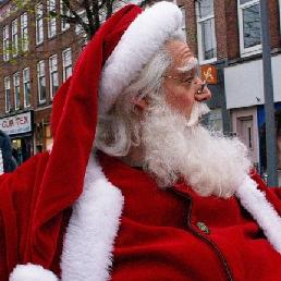 Animatie Dordrecht  (NL) Kerstman - De Kerstman met Arreslee