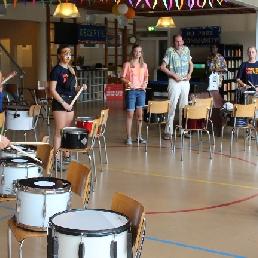 Percussionist Amsterdam  (NL) Caribische Brassband Percussie workshop