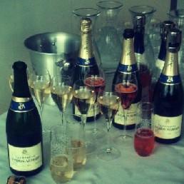 Champagne proeverij